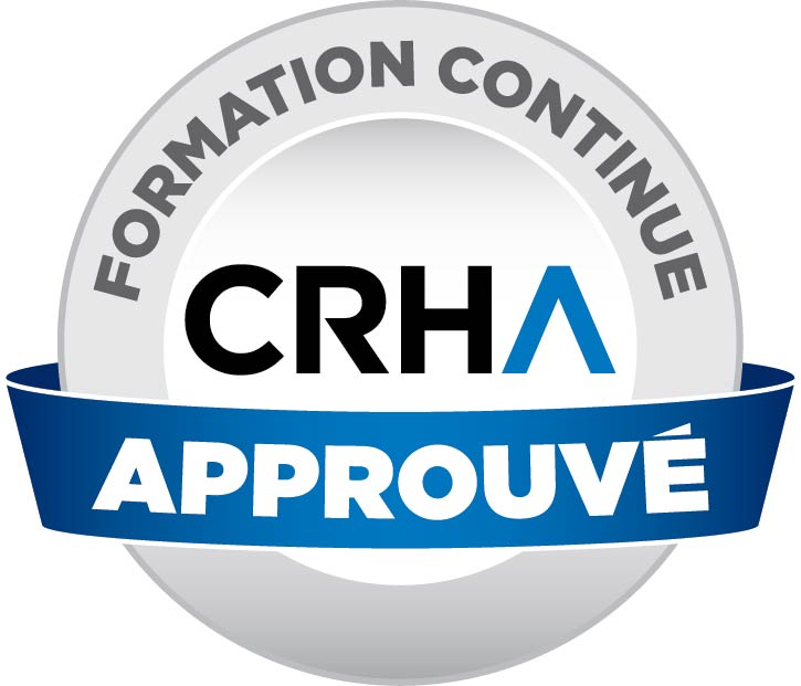 Formation approuvée CRHA